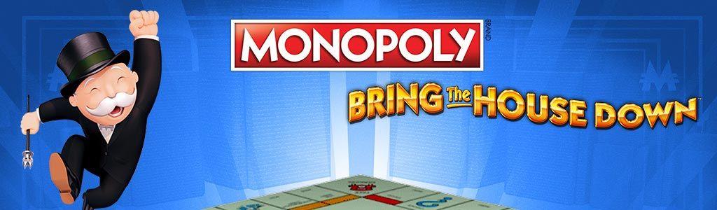 Monopoly Bring The House Down Slot Logo Thor Slots