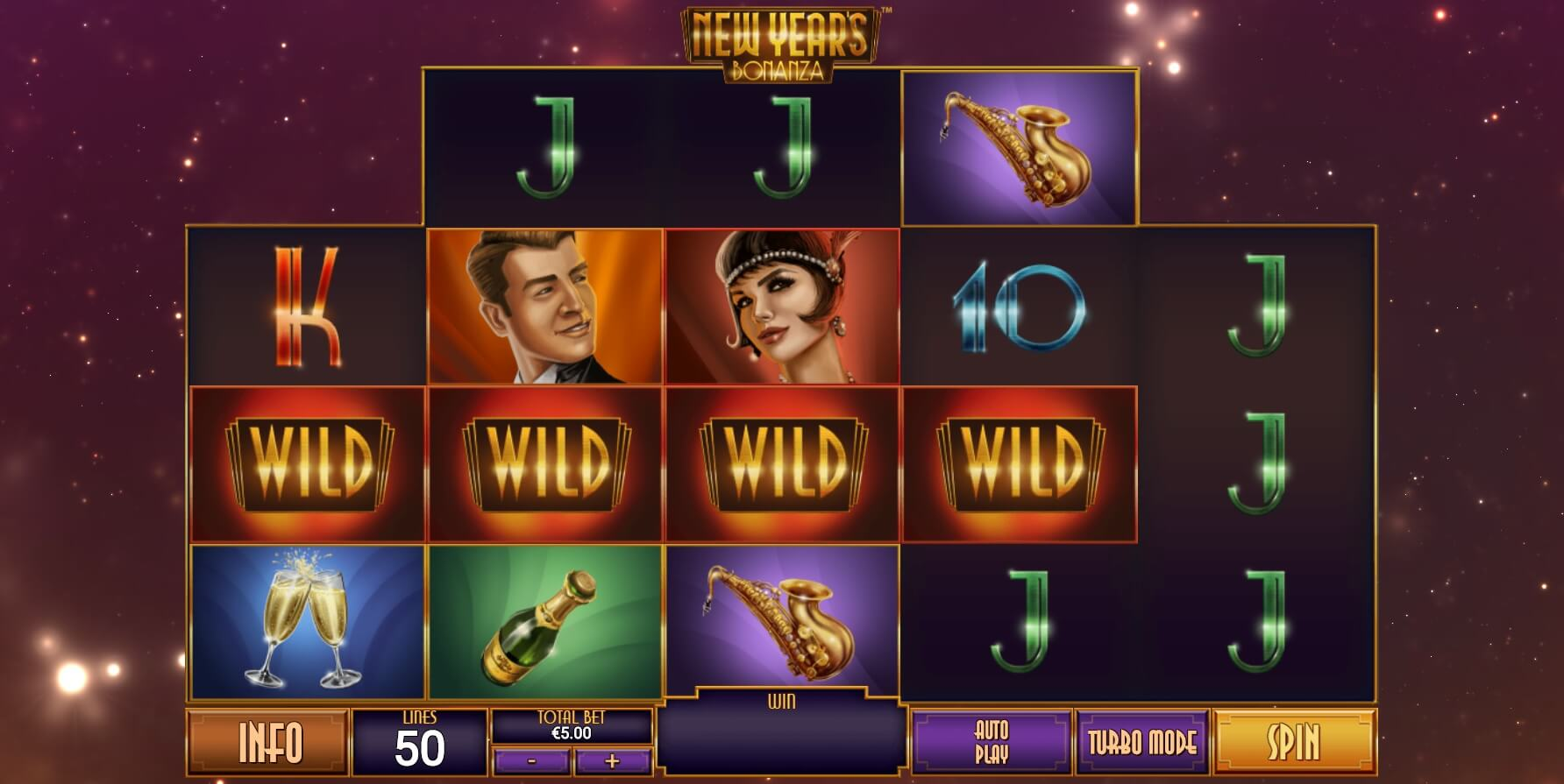 New Years Bonanza Slot Gameplay