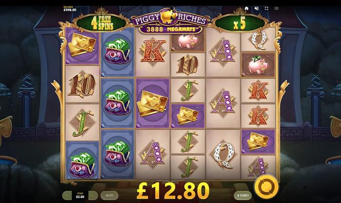 Piggy Riches Megaways Slot Online Gameplay