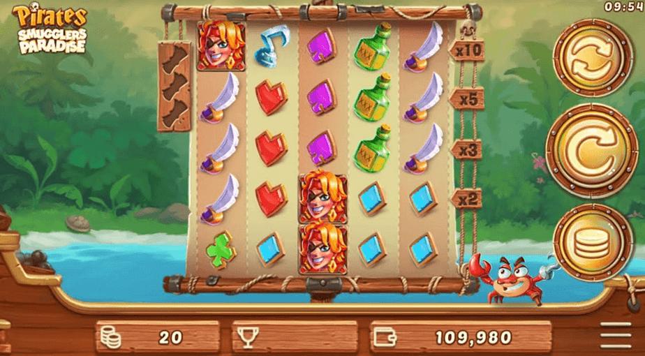 Pirates Smugglers Paradise Slot Games