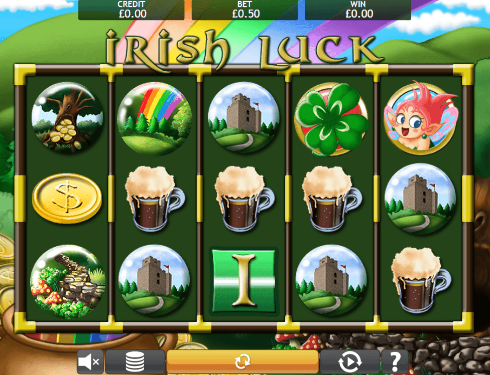 Irish Luck casino gameplay
