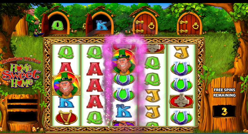 Rainbow Riches Home Sweet Home Slot Game