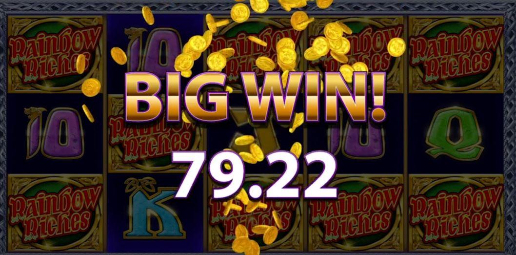 Rainbow Riches Midnight Magic Big Win