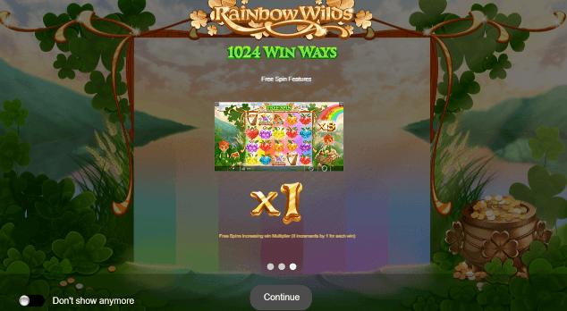 Rainbow Wilds Slots Game
