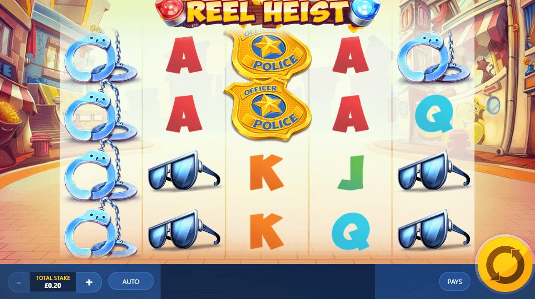 Reel Heist Slots