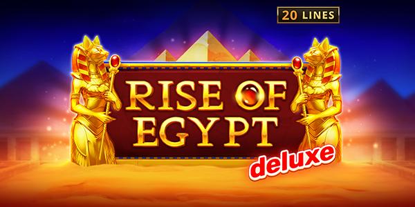 Rise of Egypt Deluxe Slot Logo Thor Slots