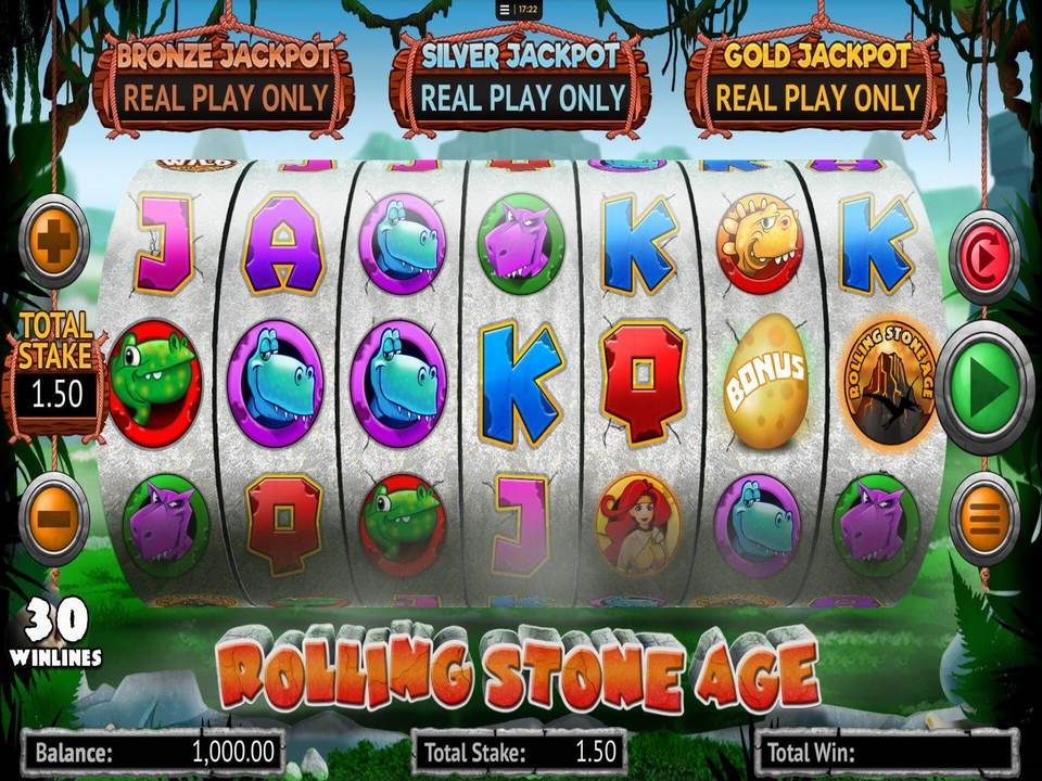 Rolling Stone Age Slot Games