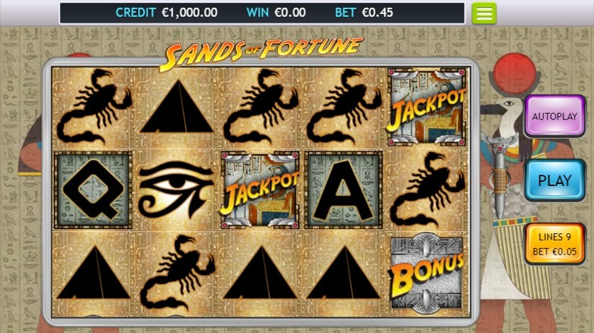 Sands of Fortune Free Slots