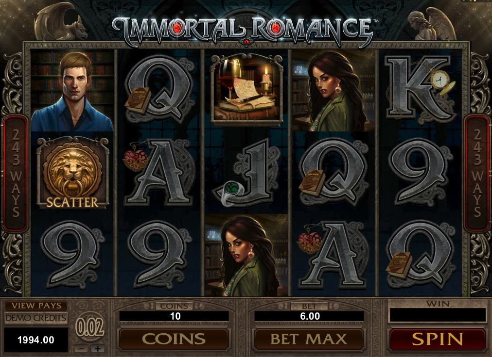 Gameplay Of Immortal Romance