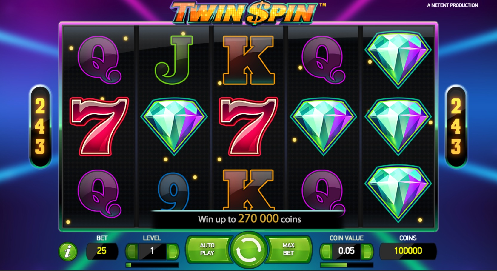 Gameplay Of Twin Spins