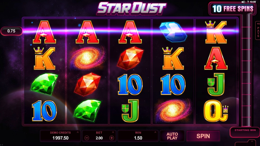 Example Of Stardust Win