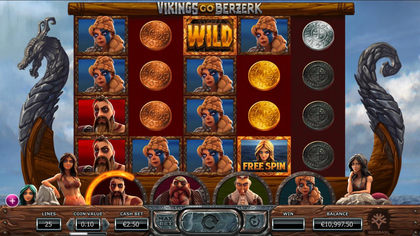 Vikings Go Berserk Gameplay