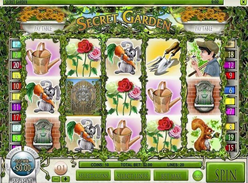 Secret Garden Free Slots