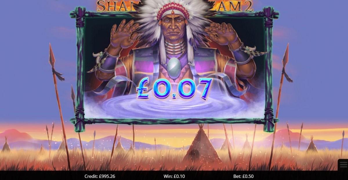 Shaman's Dreams 2 Slot Big Win
