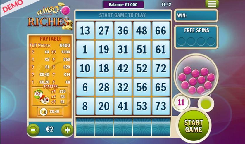 Slingo Riches Free Slots