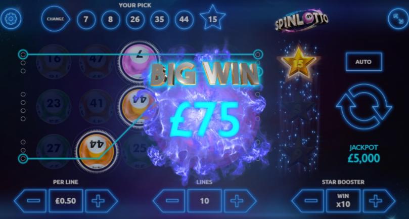 Spinlotto Big Win