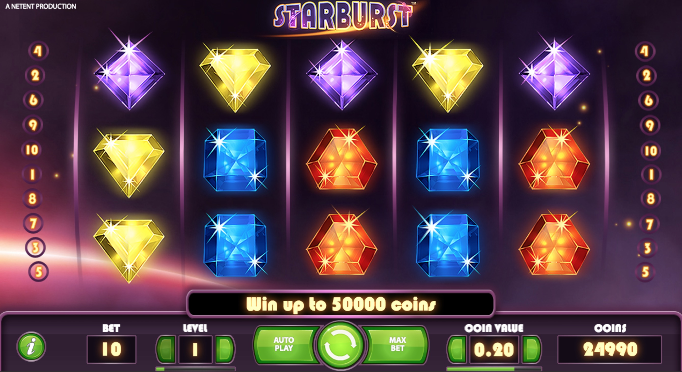 Gameplay Of Starburst