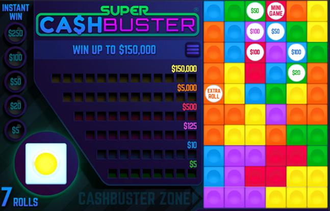 Super Cash Buster Slot Gameplay