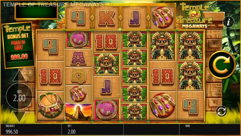 Temple of Treasure MegaWays Slots