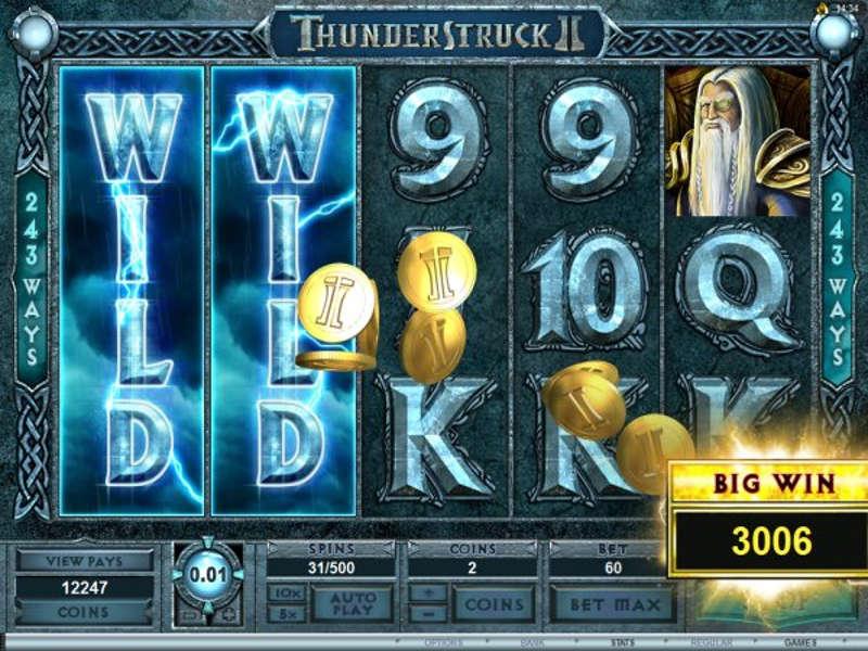Thunderstruck 2 Gameplay Logo slot