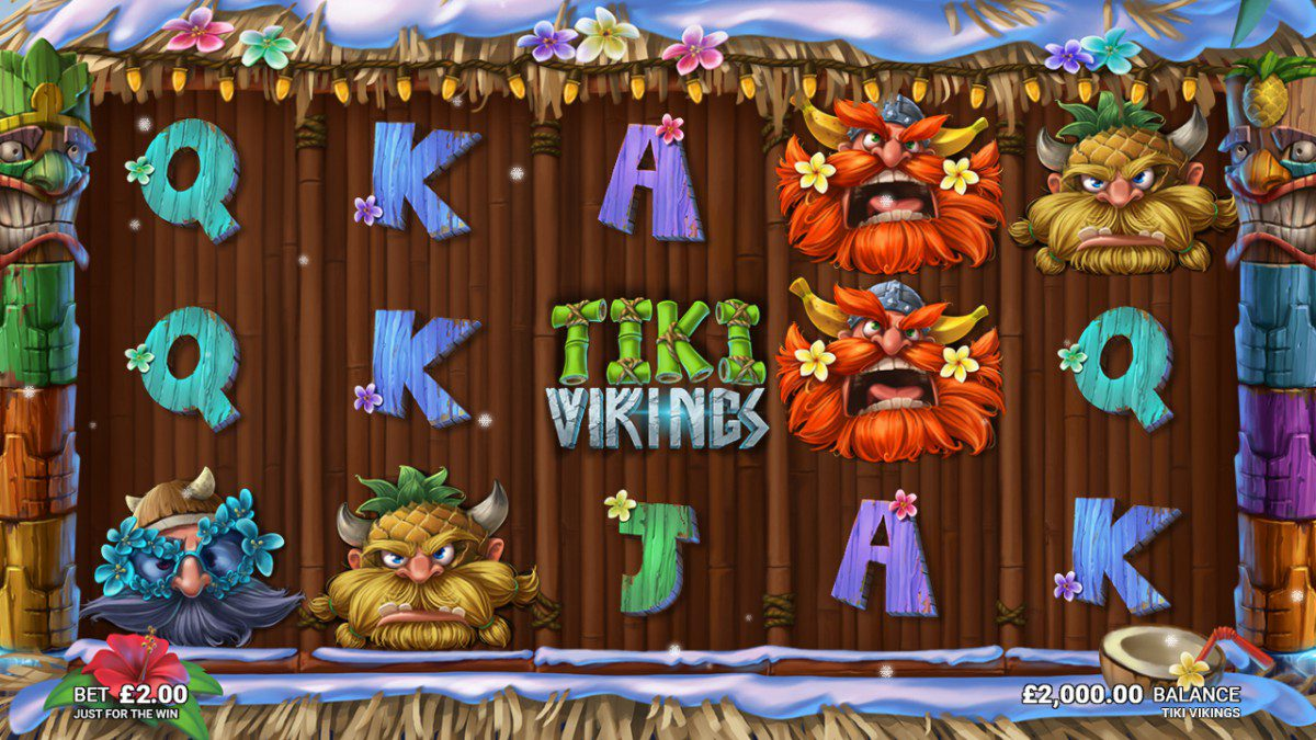Tiki Vikings Slots Thor Slots