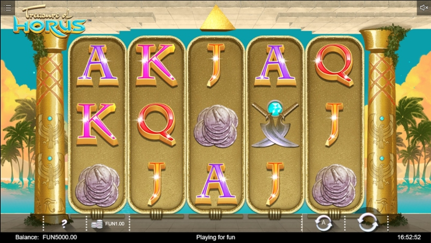 Treasure of Horus Gameplay
