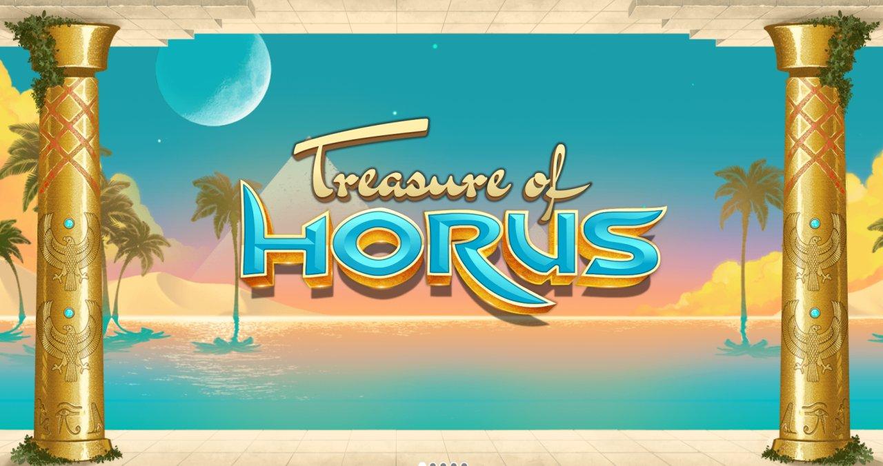 Treasure of Horus Slot Header