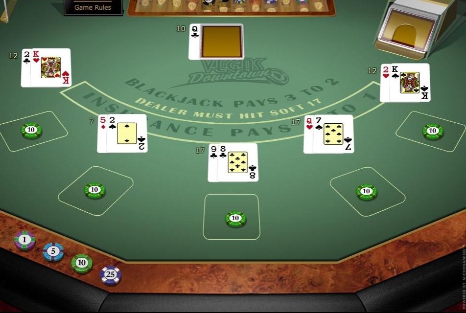 Vegas Downtown Blackjack Casino