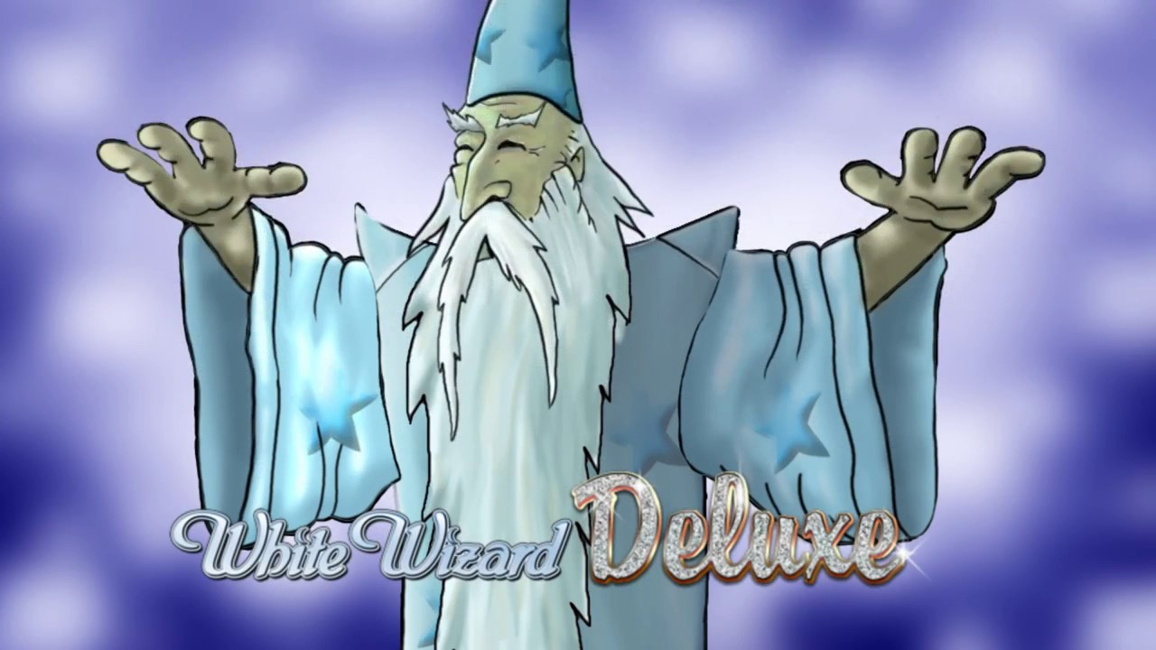 White Wizard Deluxe Slot Header