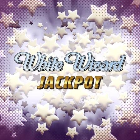 White Wizard Jackpot Slot Header