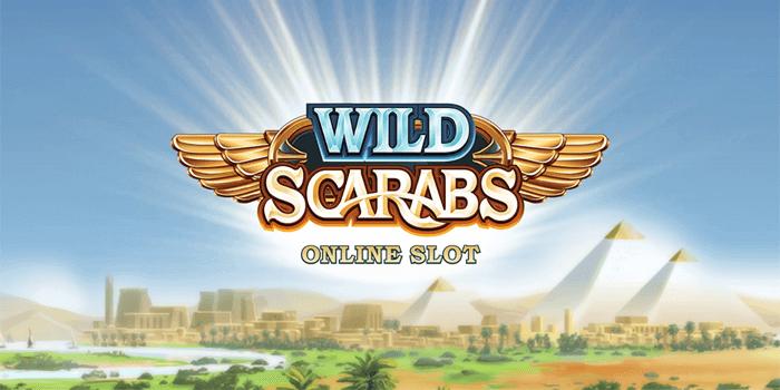 Wild Scarabs Slot Banner