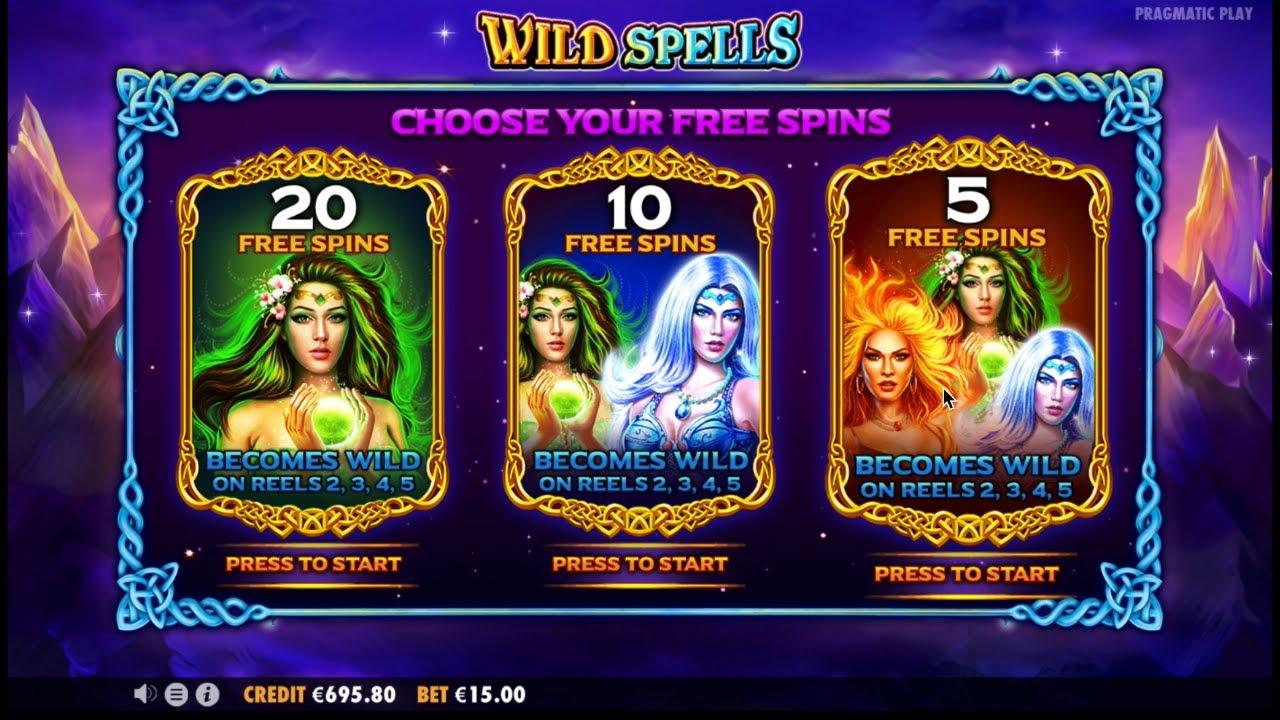 Wild Spells Slot Symbols