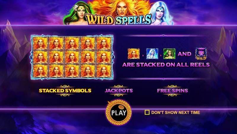 Wild Spells Slot Bonus