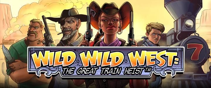 Wild Wild West: The Great Train Heist Logo