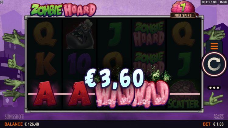 Zombie Hoard Slot Gameplay