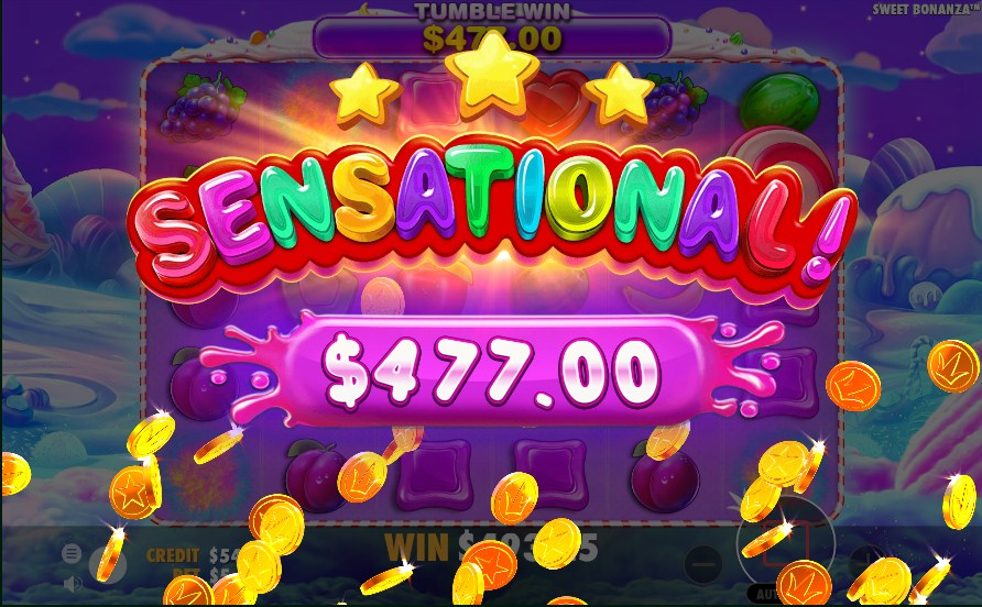 Sweet Bonanza Slot Big Win