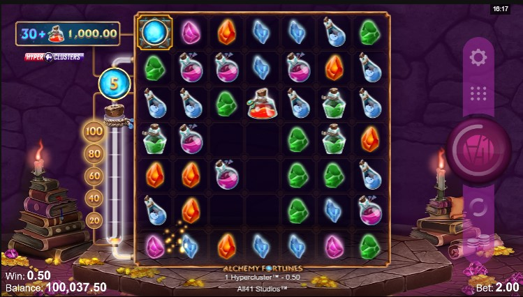 Alchemy Fortunes Slot Game Play