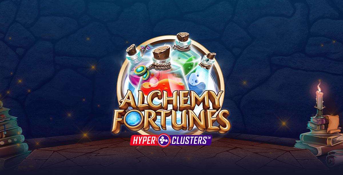 Alchemy Fortunes Slot Logo Thor Slots