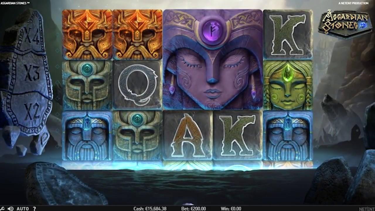Asgardian Stones Slot Game play
