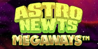 Astro Newts Slot Banner