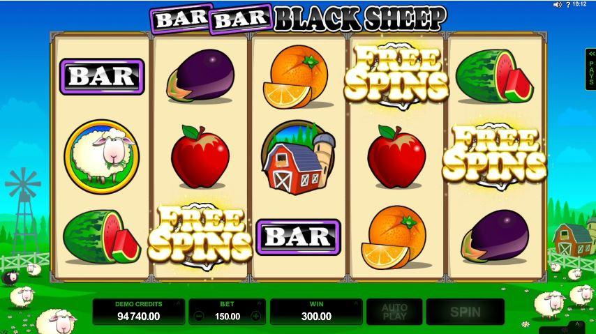 Bar Bar Black Sheep Slot UK