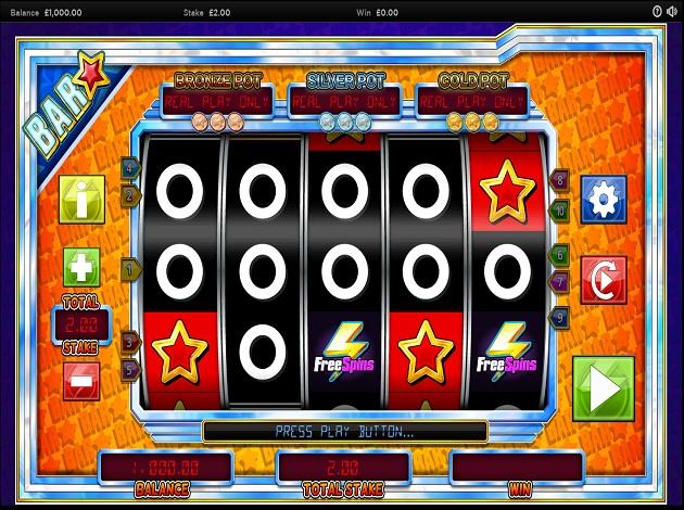 Bar Star Free Slots