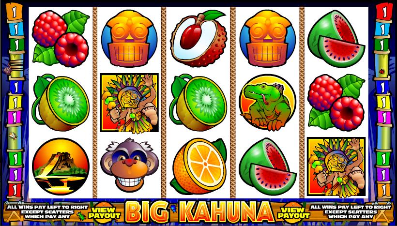 Big Kahuna Slot Game