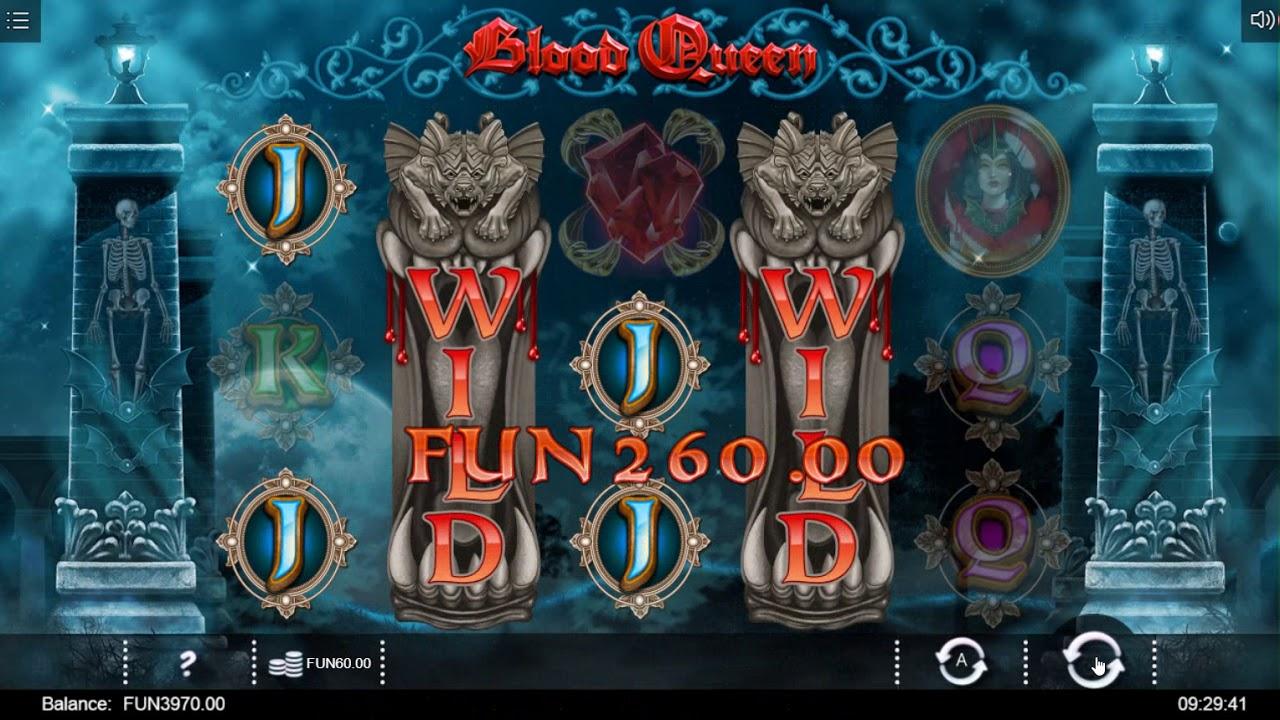 Blood Queen Free Slots