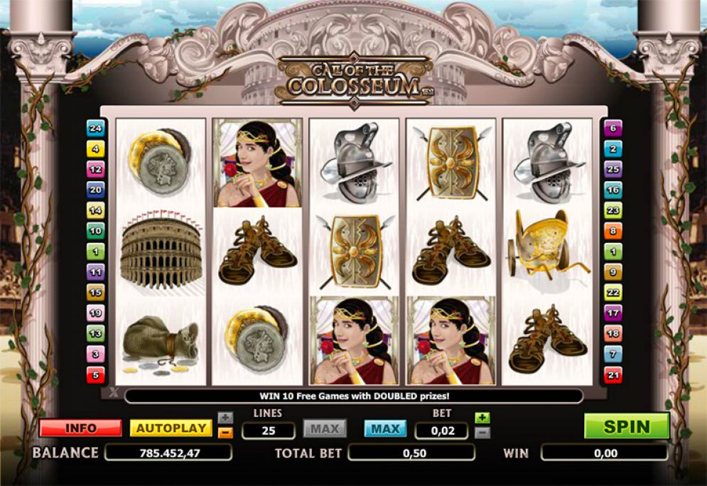 Call of the Colosseum Slots Online
