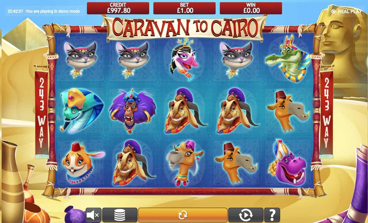 Caravan to Cairo Slots Online