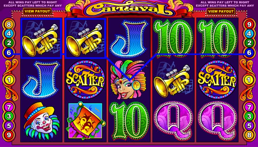 Carneval Slot Game