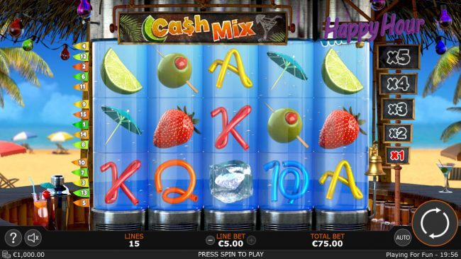 Cash Mix Casino Game