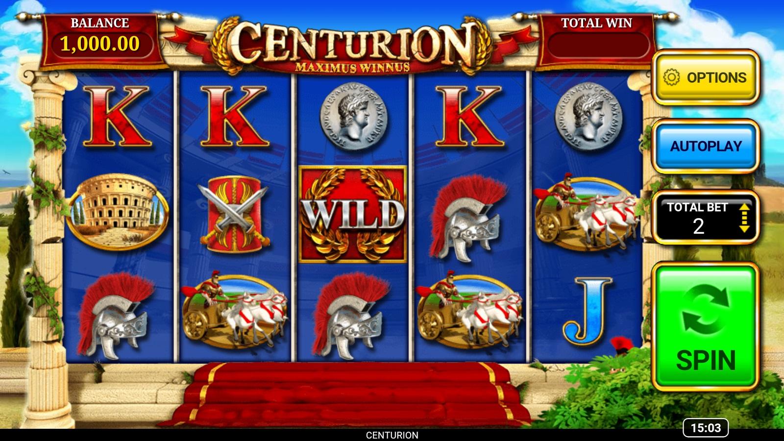 Centurion Slot Game