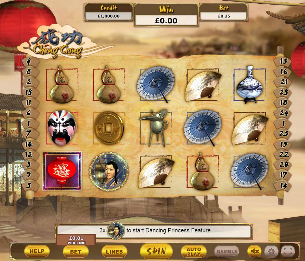 Cheng Gong Slot Online
